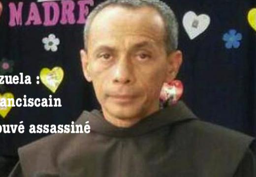 Venezuela : un prêtre franciscain retrouvé assassiné