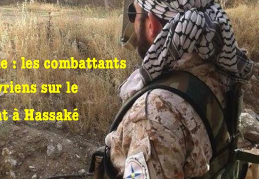 Photos : les combattants du Gozarto sur le front d'Hassaké