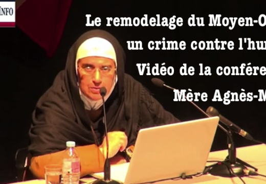 Le remodelage du Moyen-Orient : vidéo de la conférence de Mère Agnès-Mariam