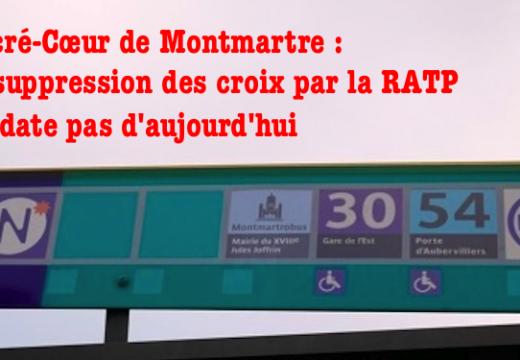 RATP et suppression des croix : cela ne date pas d'aujourd'hui !