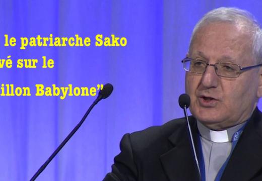 """""""Bataillon Babylone"""" : le patriarche Sako plus que réservé…"""