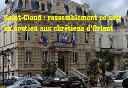 Soutien aux chrétiens d'Orient : ce soir à Saint-Cloud