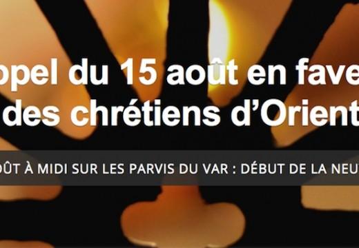 Var : le 15 août à midi toutes les cloches des églises sonneront pour les chrétiens d'Orient