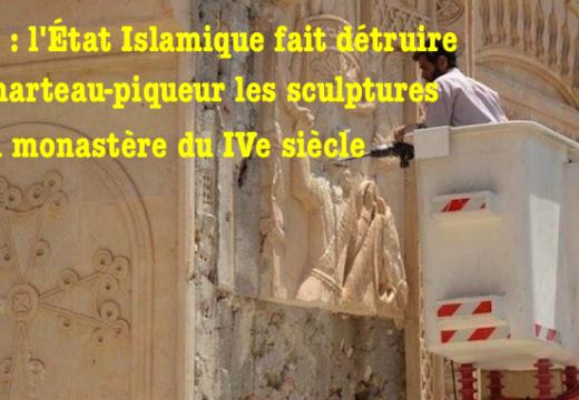 Irak : un monastère en cours de destruction à Bakhdida ?
