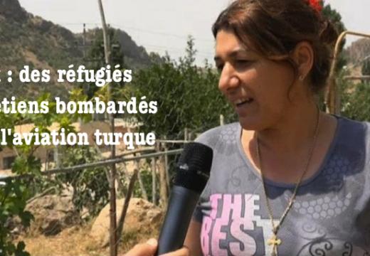 Irak : des Assyriens bombardés par l'aviation turque