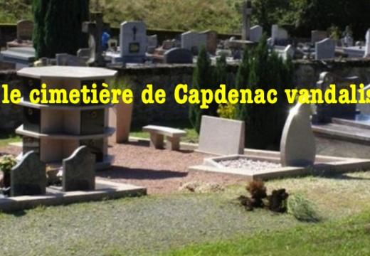 Lot : cimetière municipal vandalisé à Capdenac