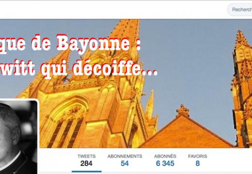Mgr Aillet : un twitt qui décoiffe…