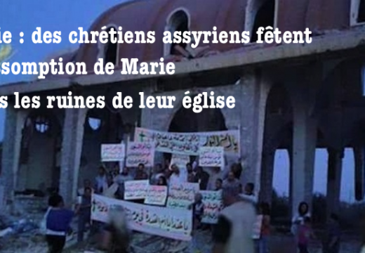 Syrie : l'Assomption fêtée dans les ruines d'une église
