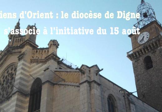 Chrétiens d'Orient : un 7ème diocèse s'associe à l'initiative du 15 août