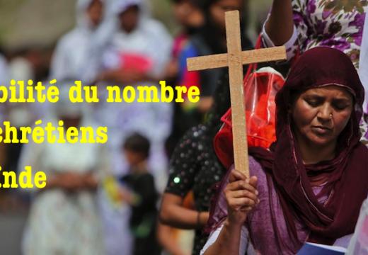 Inde : stabilité du nombre de chrétiens