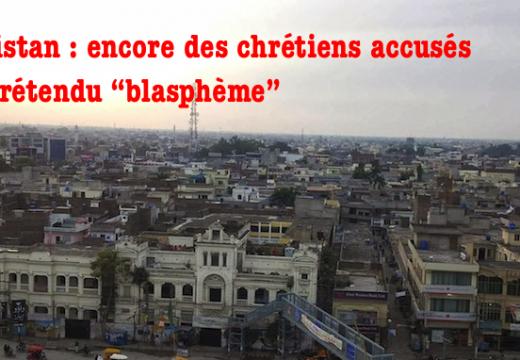 """Pakistan : un pasteur et des chrétiens menacés pour un prétendu """"blasphème"""""""