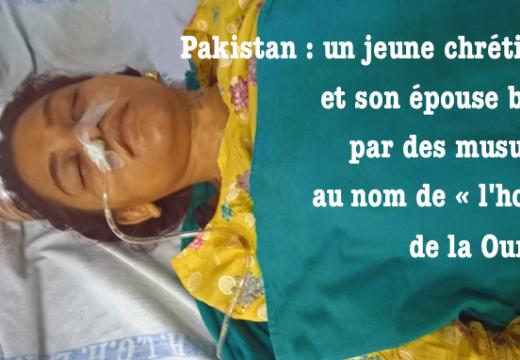 Pakistan : un chrétien tué et sa jeune femme blessée par des musulmans
