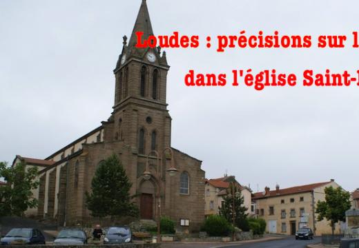 Loudes : précisions sur le vol dans l'église Saint-Roch
