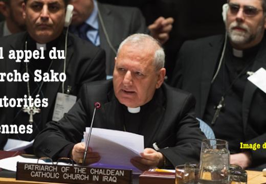 Nouvel appel du patriarche Sako aux autorités irakiennes