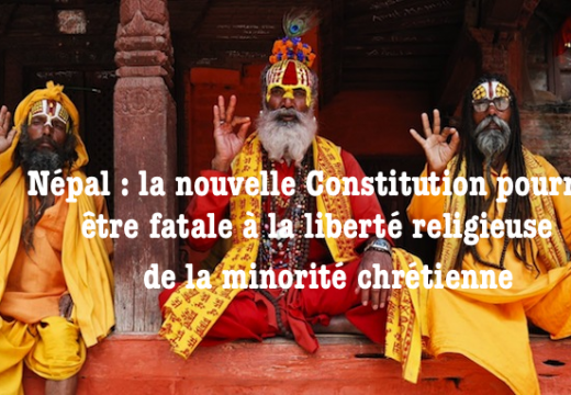 Népal : la nouvelle constitution présente des risques pour les chrétiens
