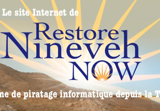 Un site assyrien piraté depuis la Turquie