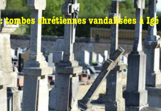 Orne : tombes chrétiennes vandalisées à Igé