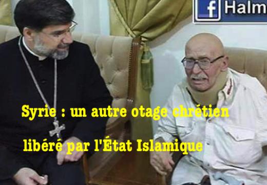 Syrie : l'État Islamique relâche un otage chrétien âgé