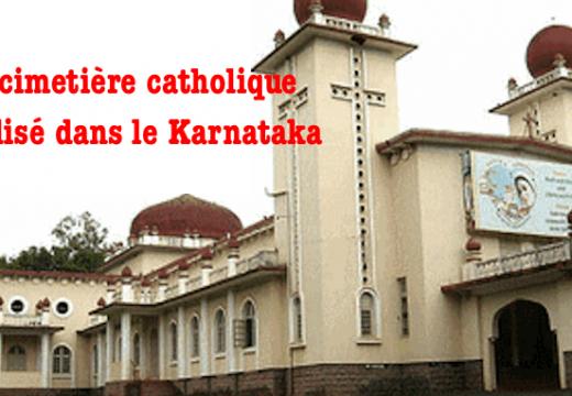 Inde : un cimetière catholique vandalisé dans le Karnataka