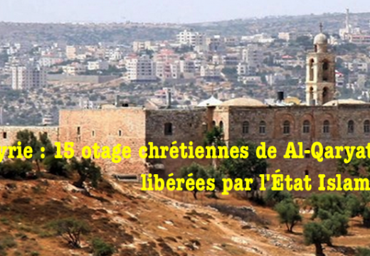 Syrie : 15 chrétiennes âgées relâchées par l'État Islamique