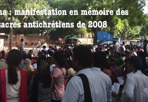 Inde : manifestation en Odisha en mémoire des massacres antichrétiens de 2008