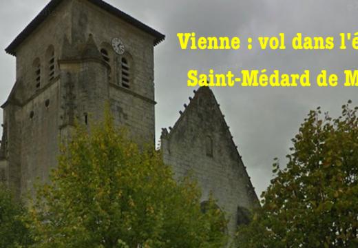 Vienne : des reliques volées dans une église de Magné