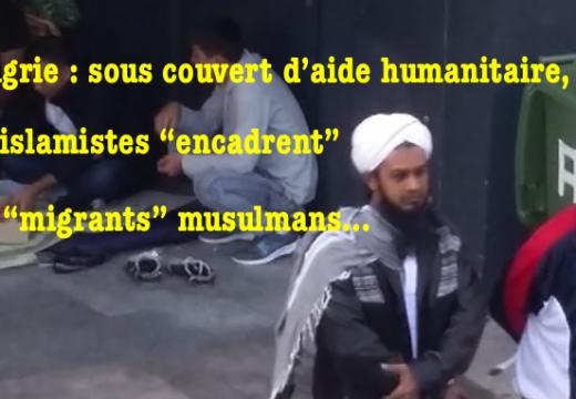 """""""Migrants"""" : les islamistes à la manœuvre en Hongrie…"""