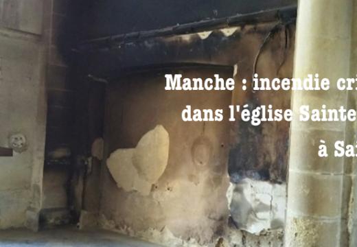Manche : incendie criminel d'une église à Saint-Lô