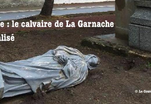 Vendée : calvaire vandalisé à La Garnache
