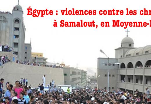 Égypte : dix coptes agressés et blessés dans la « Ville des Martyrs »