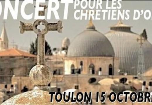 Toulon : concert pour les chrétiens d'Orient