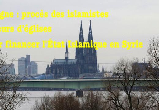 Allemagne : les pilleurs islamistes d'églises devant leurs juges