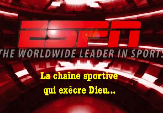 États-Unis : interdit de rendre grâce à Dieu sur ESPN