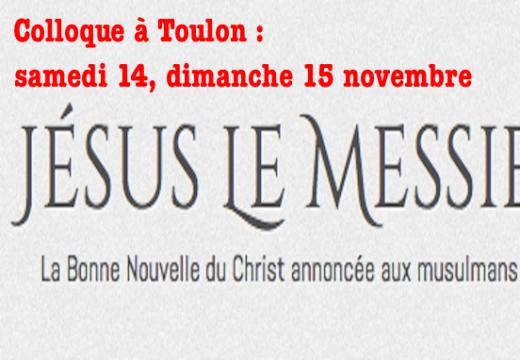 Colloque à Toulon : de Mahomet à Jésus…