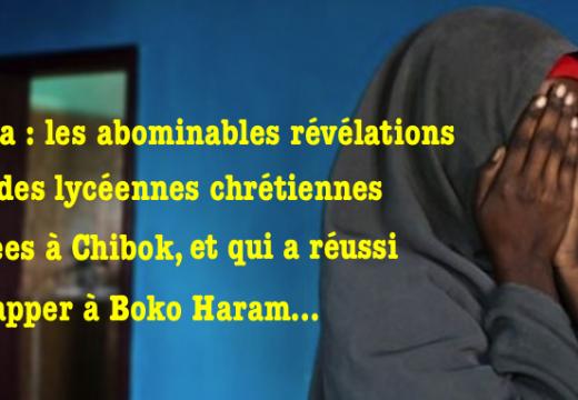 Nigéria : des nouvelles atroces sur les lycéennes enlevées à Chibok