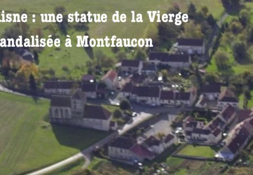 Aisne : une statue de la Vierge décapitée et amputée des mains à Montfaucon