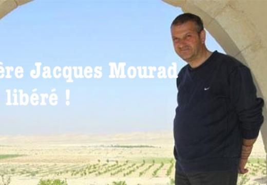 Le Père Jacques Mourad est libre !