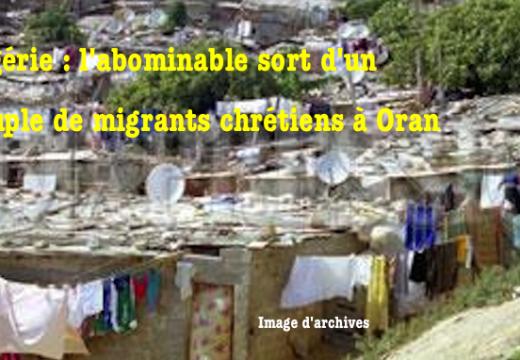 Algérie : comment sont traités des migrants chrétiens…