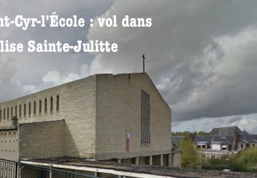 Yvelines : vol dans une église de Saint-Cyr-l'École
