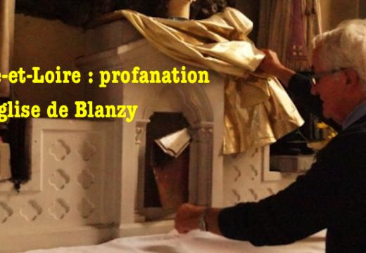 Saône-et-Loire : profanation de l'église de Blanzy