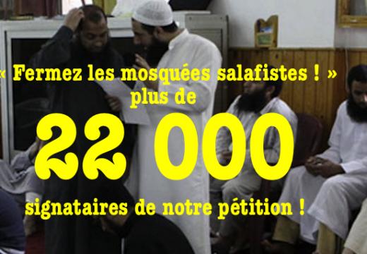 Notre pétition : plus de 22 000 signataires !
