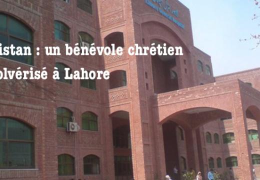 Pakistan : un bénévole chrétien révolvérisé à Lahore