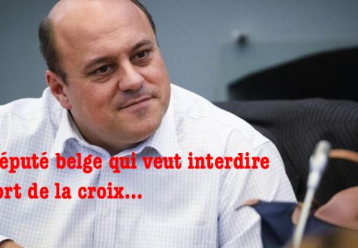 Belgique : un député veut interdire le port de la croix !