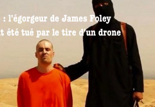 """Syrie : l'égorgeur islamiste """"Jihadi John"""" aurait été tué"""