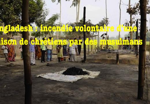 Bangladesh : une famille chrétienne a failli être brûlée vive par des musulmans