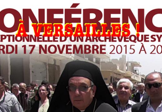 Versailles : témoignage de l'archevêque de Homs