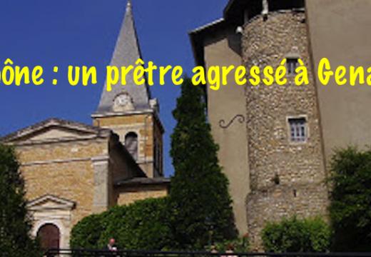 Rhône : un prêtre agressé à Genay