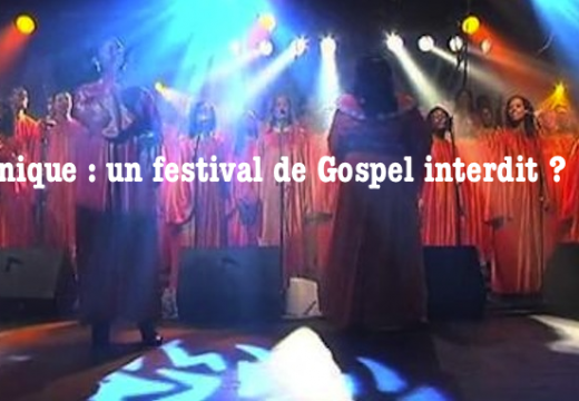 Martinique : un festival de Gospel interdit ?