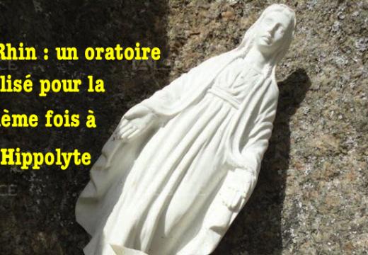 Haut-Rhin : un oratoire vandalisé pour la quatrième fois à Saint-Hippolyte