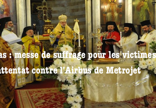 Damas : messe de suffrage pour les victimes de l'attentat contre l'avion de Metrojet